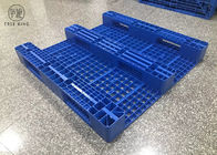 Four Way Heavy Duty Industrial Plastic Pallets Warehouse Storage 1400 * 1200