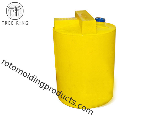 UV-Stabilised PE Plastic Chemical Tanks For Cooler Water Treatment Mc 1000l Rotomolding