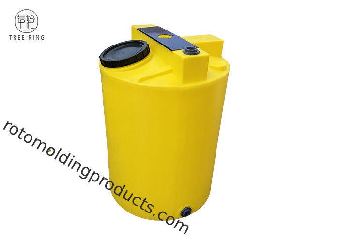 Roto - Molding 250 Gallon Chemical Storage Tanks For Bulk Liquid Fertilizer Storage