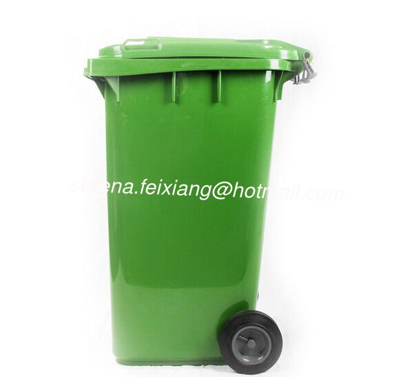 240 liter pure HDPE dustbin compost bin publis trash can or plastic garbage